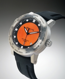 Môntrèk Round World Time Watch