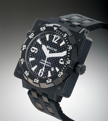 Môntrèk Square Diver Watch